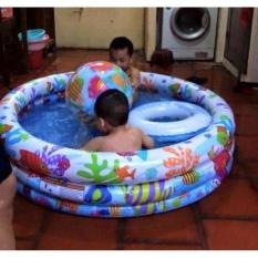 Bể Tắm 3 Chi Tiết Cho Bé ( Bể -Bóng- Phao)