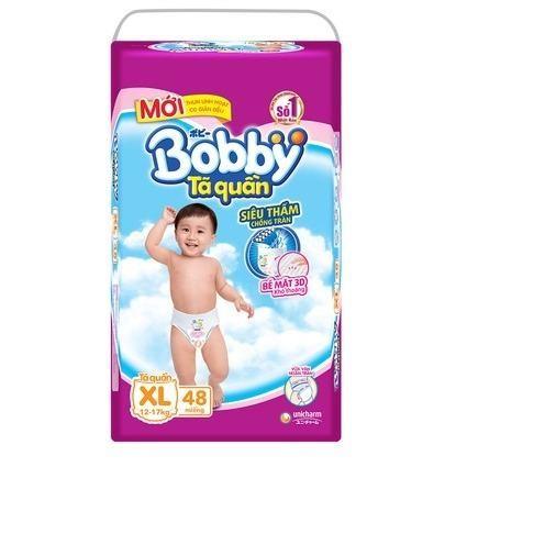 Bỉm - Tã quần Bobby SIZE Xl48 QUẦN