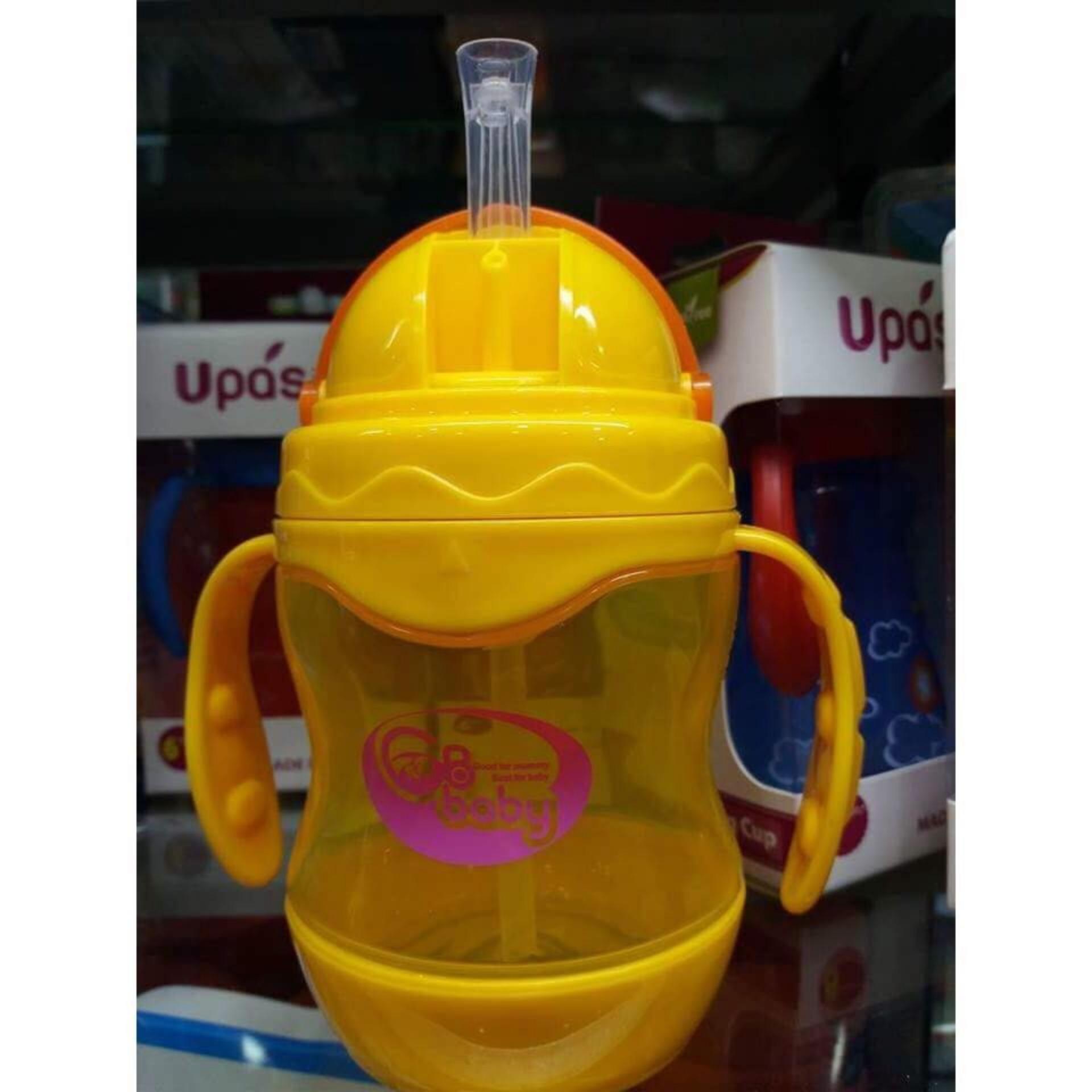 Bình (Ca) tập uống GB Baby Hàn Quốc có van chống đổ nước 240ml