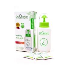 Bình rửa mũi Dr Green + Tặng kèm 10 gói muối rửa chiết xuất lô hội