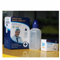 Bình rửa mũi Nasal Rinse KIT + Tặng kèm hộp 20 gói muối chống viêm