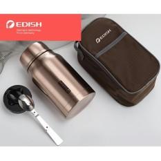 Bình ủ cháo, bình giữ nhiệt Edish thương hiệu Đức inox 316 cao cấp 800ml