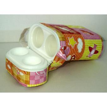 Bình Ủ Sữa Đôi Cho Bé 3 Lớp Cao Cấp NC (Màu, Họa Tiết Ngẫu Nhiên) - 4