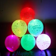 Bộ 10 Bóng bay phát sáng (Nhiều màu)| Happy city