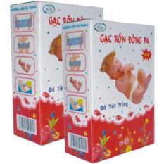 Nơi mua Bộ 10 hộp Gạc băng rốn an toàn cho trẻ sơ sinh Đông Fa 3 con nai