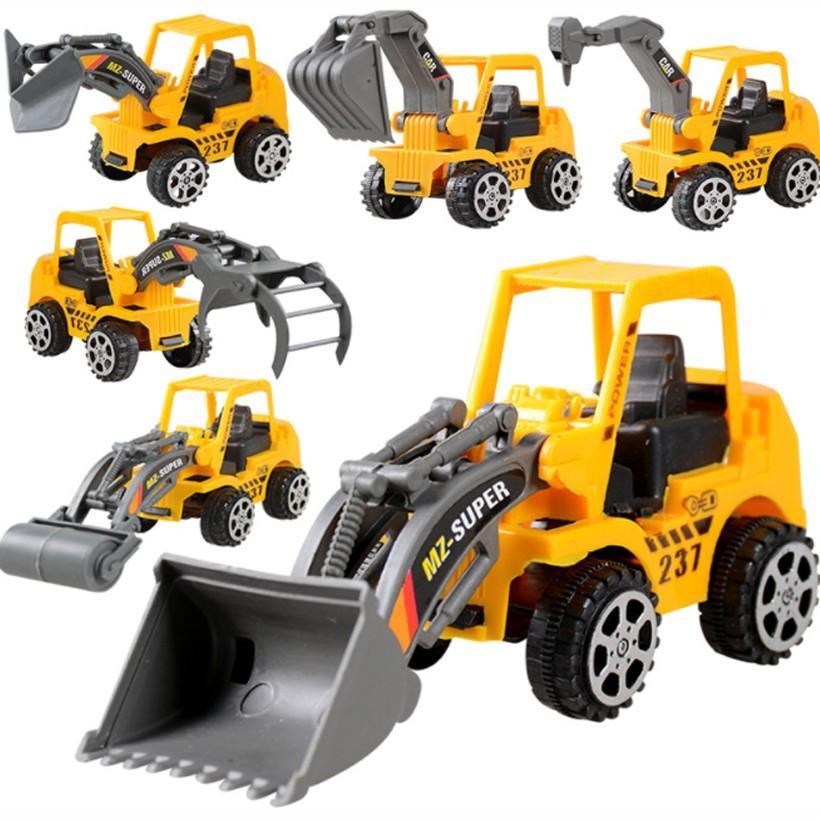 Bộ 10 xe mô hình xây dựng cho bé MH shop 01
