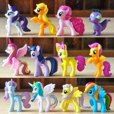 Bộ 12 chú Ngựa Poly ( Loại T0)