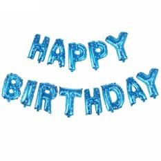 Bộ 13 bóng chữ Happy Birthday trang trí sinh nhật