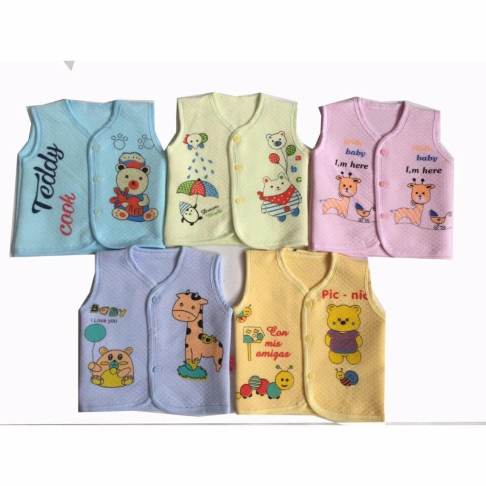Bộ 2 áo GILE bông xốp in hình cho bé số 3 Chipxinhxk