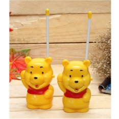 Bộ 2 bộ đàm gấu Pooh hoạt hình cho bé