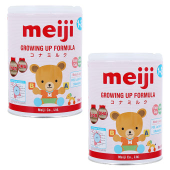Bộ 2 lon sữa Meiji GROWING UP FORMULA 800g