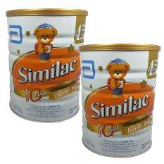 Bộ 2 sữa bột ABBOTT Similac Gain Kid IQ Plus Advance 4 900g