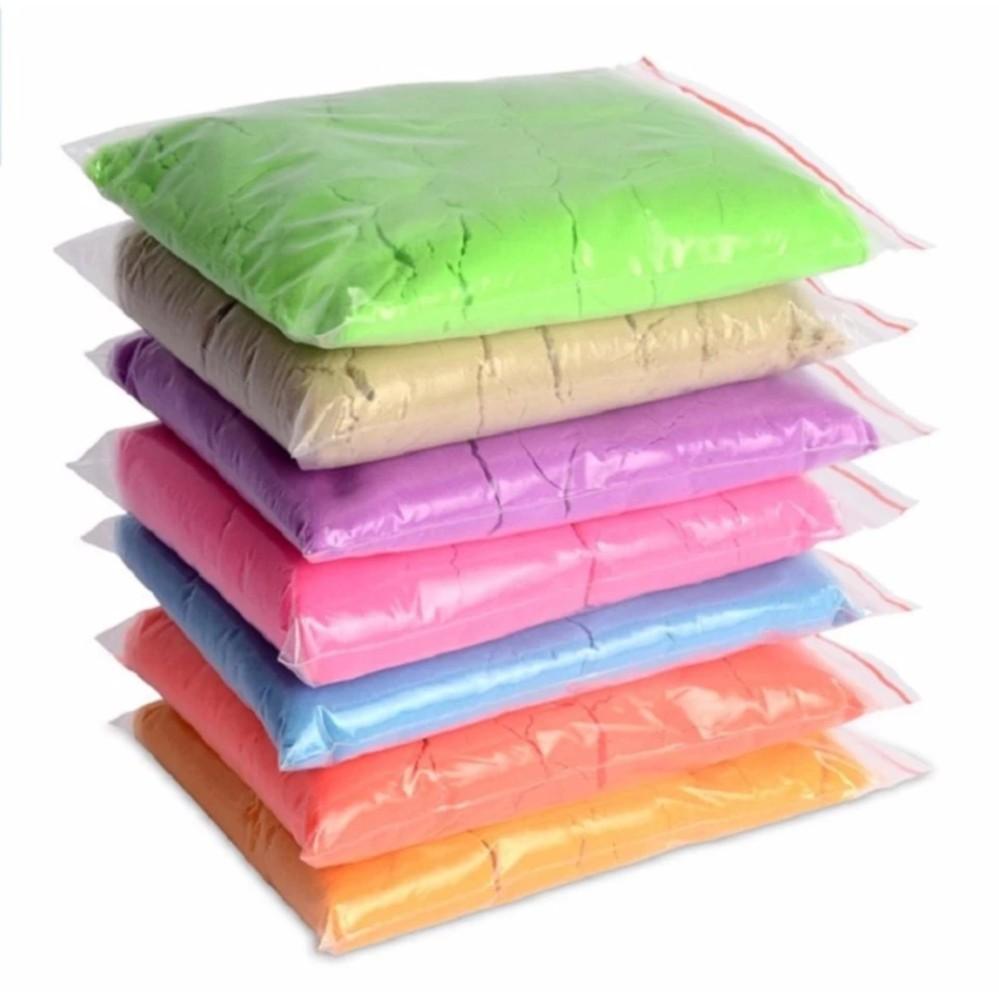 Bộ 2 Túi nặng 2kg Cát động lực vi sinh an toàn cho trẻ (chia 2 màu ngẫu nhiên)