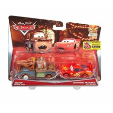 Bộ 2 xe Mater with Lightning McQueen with No Tires (không bánh xe)