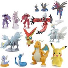 Bộ 24 tượng thú C'MON TOYS Pokemon GO cao 2-3cm HQ Plaza 391I