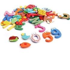 Bộ 26 chữ 10số+ 5 dấu+12 sinh vật biển nam châm cho bé vui học