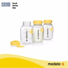 Bộ 3 Bình Trữ Sữa 150ml- Hàng phân phối chính thức Medela Thụy Sĩ