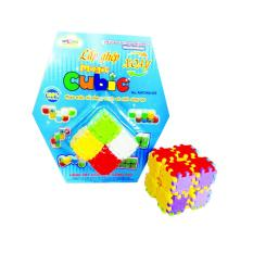Bộ 3 đồ chơi Lắp ghép xoay – Magic Cubic