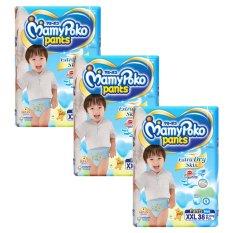 Vì sao mua Bộ 3 gói tã quần cho bé trai Mamypoko XXL38