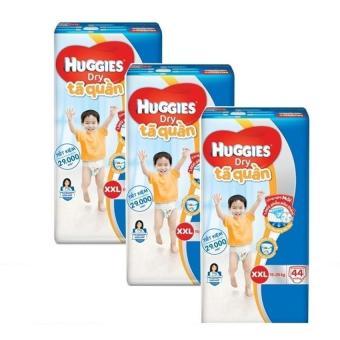 Bộ 3 tã quần Huggies Big Jumbo XXL44