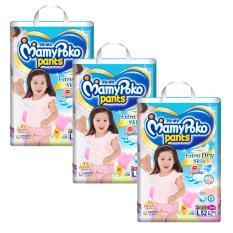 Đánh Giá Bộ 3 tã quần Mamypoko L52 (Girl)