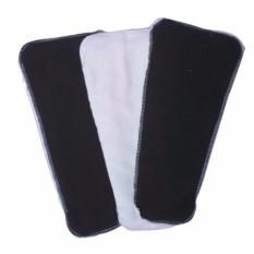 Bộ 4 Miếng Lót Tã Vải Dorabe: 2 Ban Ngày, 2 Ban Đêm Size M