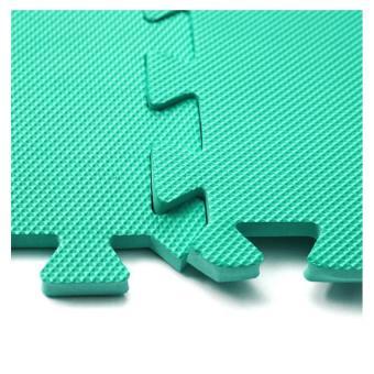 Bộ 4 tấm thảm chơi cho bé 60 x 60 x 1cm (Xanh lá) - 3