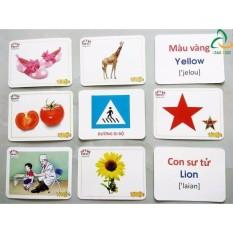 Bộ 416 Thẻ Học Tiếng Anh Thông Minh Flashcard Cho Bé yêu