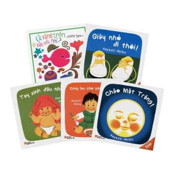 Bộ 5 cuốn Truyện Ehon Dành Cho Trẻ Từ 0 - 3 Tuổi - Quảng Văn - 2017 - Tủ Sách Mầm Non