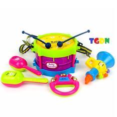 Bộ 5 đồ chơi âm nhạc cho bé yêu