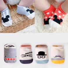 Bộ 5 đôi tất bàn Hàn Quốc cho bé giá rẻ Vớ trẻ em
