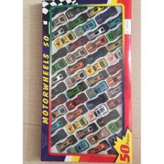 Bộ 50 ô tô đồ chơi xe đua cho bé thỏa chí vui học