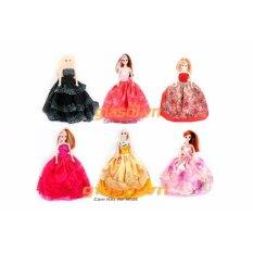 Bộ 6 đồ chơi búp bê Babrie cho bé (Nhiều màu)