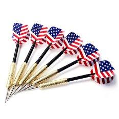 Bộ 6 mũi tên phi tiêu lá cờ nước Mỹ