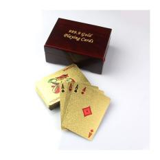 Bộ bài Tây cao cấp 999.9 Gold Playing Cards