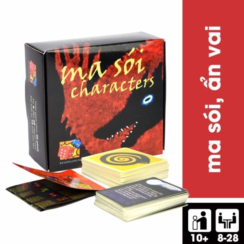 Bộ bài Trò chơi Ma Sói Characters – Phiên bản Tiếng Việt