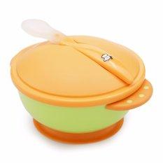 Bộ bát ăn cho bé kèm thìa (muỗng) Basilic