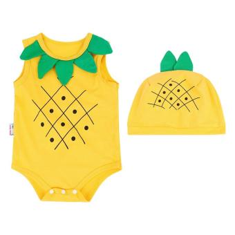 Bộ Bodysiut Fruit - BDS02 - Mihababy - Size 3