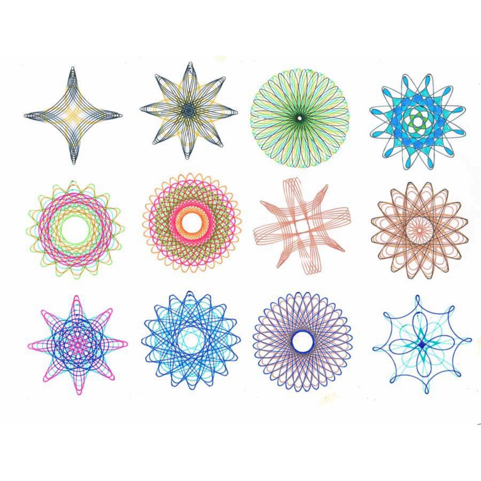 Bộ bút thước vẽ họa tiết Spirograph cho bạn thỏa sức sáng tạo – Kmart