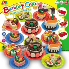 Bộ đất nặn Birthday Cake cho bé