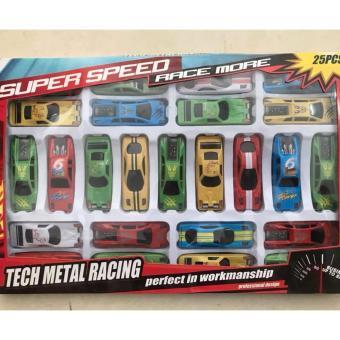 Bộ đồ chơi 25 chiếc ô tô cho bé