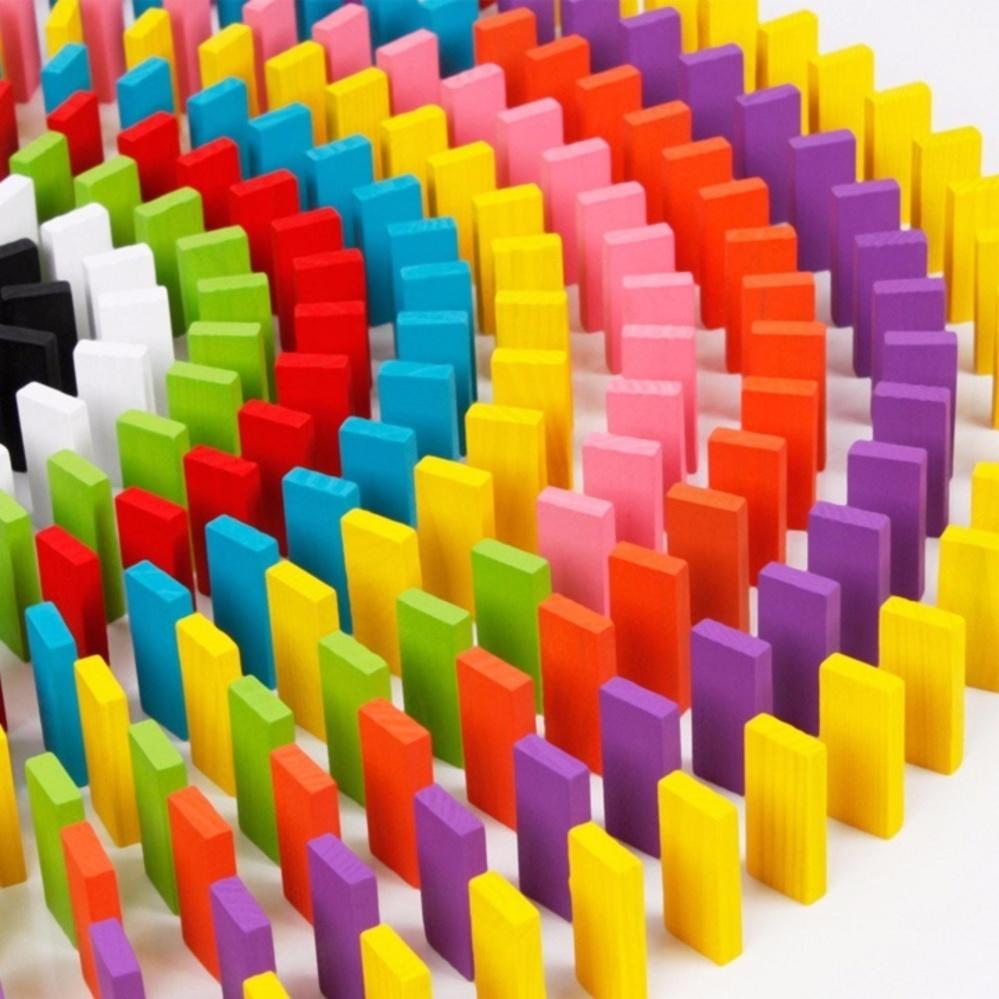 Bộ đồ chơi 300 quân Domino bằng gỗ