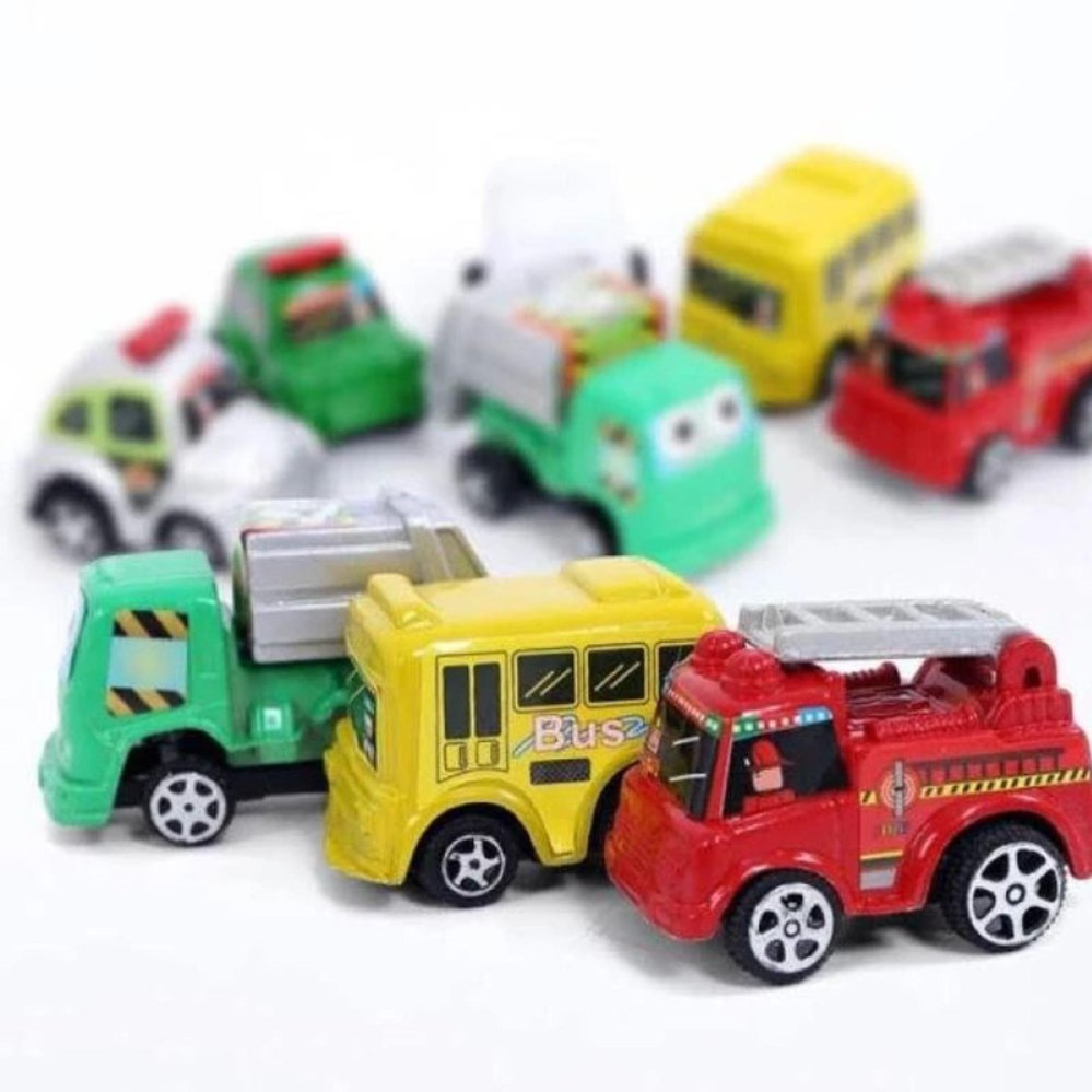 Bộ đồ chơi 6 ô tô chạy đà SUNAVI SERIES