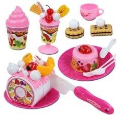 Bộ đồ chơi cắt bánh Gato sinh nhật Luxury