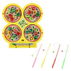 Bộ đồ chơi câu cá 4 gian Táo đỏ