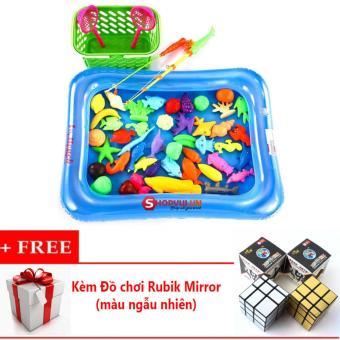 Bộ đồ chơi câu cá cho bé kèm bể phao + Kèm Đồ chơi Rubik Mirror (màu ngẫu nhiên) - 8739450 , SM872TBAA41Z8LVNAMZ-7317771 , 224_SM872TBAA41Z8LVNAMZ-7317771 , 139000 , Bo-do-choi-cau-ca-cho-be-kem-be-phao-Kem-Do-choi-Rubik-Mirror-mau-ngau-nhien-224_SM872TBAA41Z8LVNAMZ-7317771 , lazada.vn , Bộ đồ chơi câu cá cho bé kèm bể phao + Kèm Đ