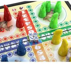 Bộ đồ chơi dân gian cờ cá ngựa bằng nhựa