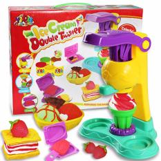 Bộ đồ chơi đất nặn làm kem cho bé