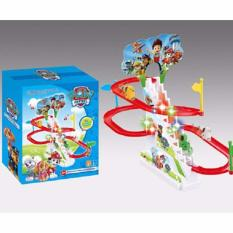 Bộ đồ chơi đường đua Oto Poli cho bé Cao Cấp -Benry