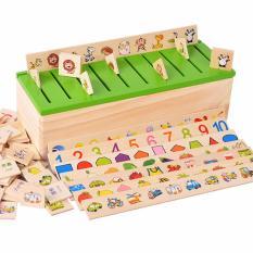Bộ đồ chơi giúp bé phát triển trí nhớ và tư duy phân loại theo chủ đề